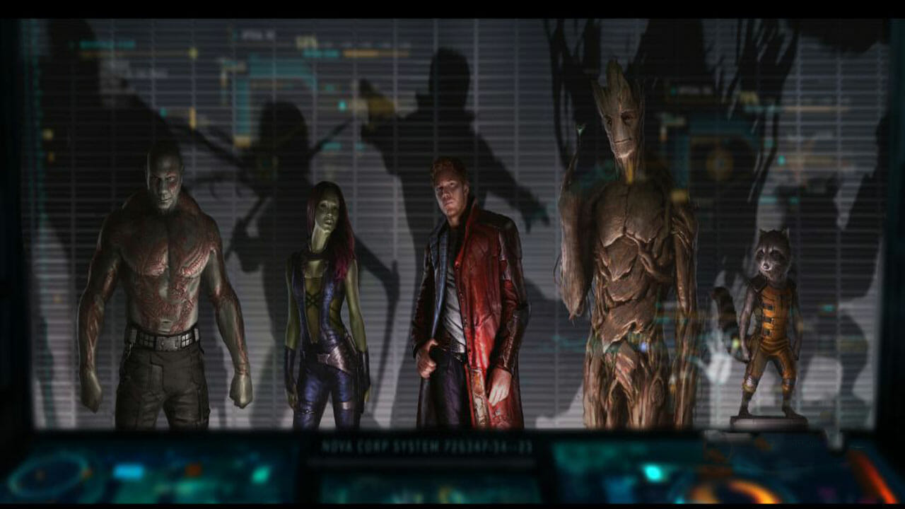 Guardians of the Galaxy trailer finally arrives 2