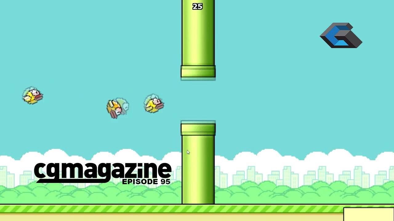 CGMPodcast Episode 95 - Flappy Birds and Robocop