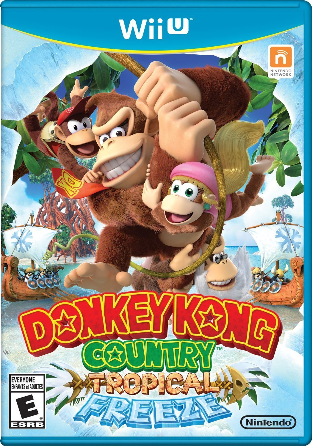 Donkey Kong Country: Tropical Freeze (Wii U) Review 4