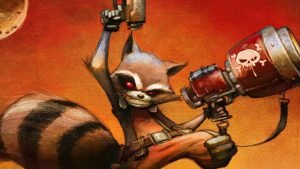 Rocket Raccoon gets his own comic series in July
