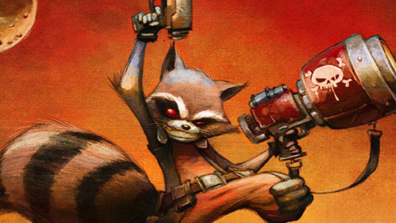 Rocket Raccoon gets his own comic series in July