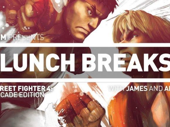 CGM Lunch Breaks: Street Fighter IV Arcade Edition