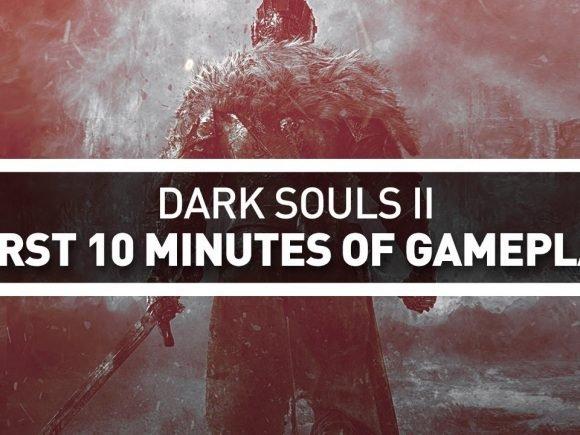 CGM Plays: 10 Minutes of Dark Souls II - 2015-09-28 14:20:00