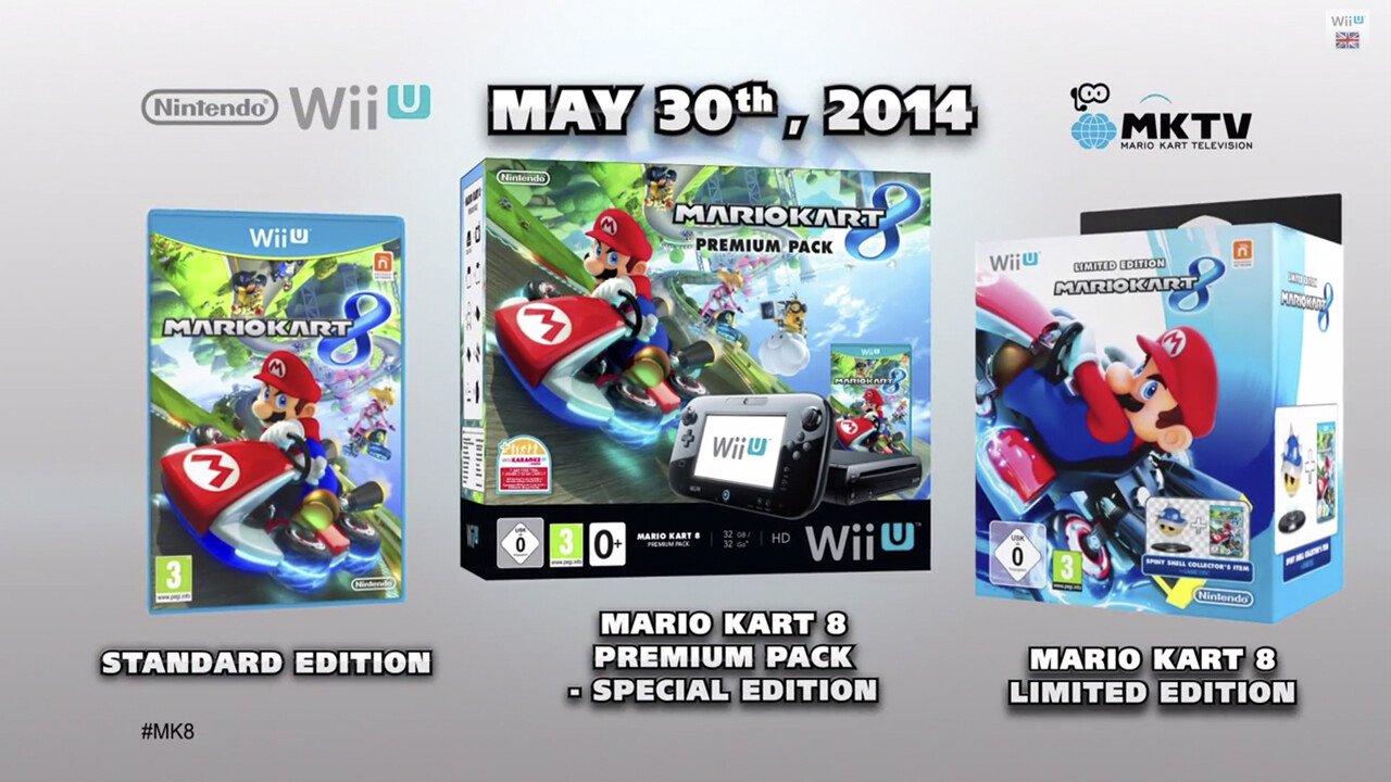 Mario Kart 8 Wii U Bundles Announced for Europe - 2014-04-24 12:01:47