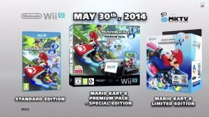 Mario Kart 8 Wii U Bundles Announced for Europe