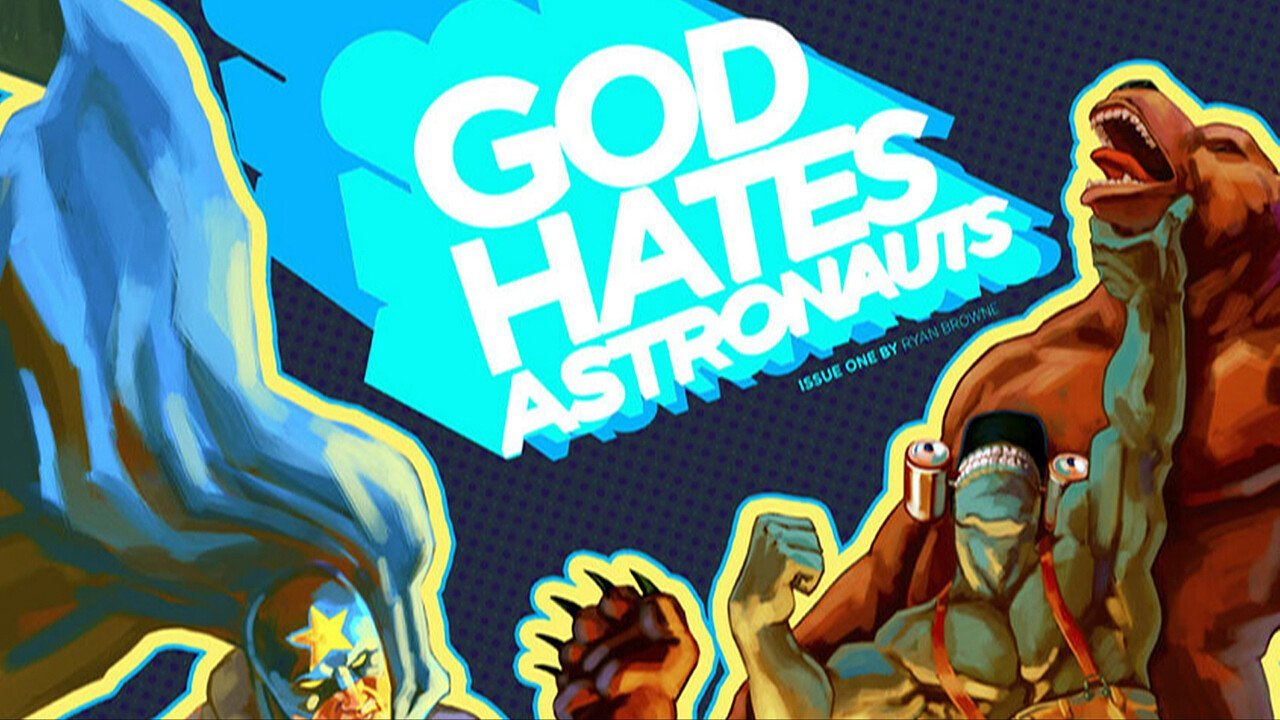Image to Publish Web Comic God Hates Astronauts 1