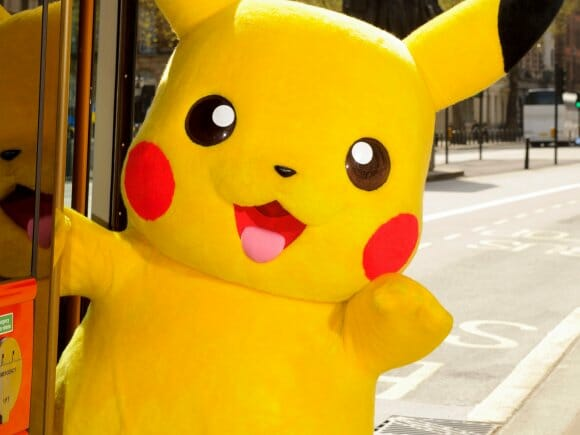 """Pikachu Joins London's """"Year Of The Bus"""""""