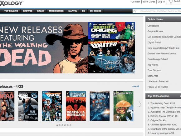 ComiXology Removes All In-App Purchases For All Apple and Android Devices - 2014-04-28 11:23:18