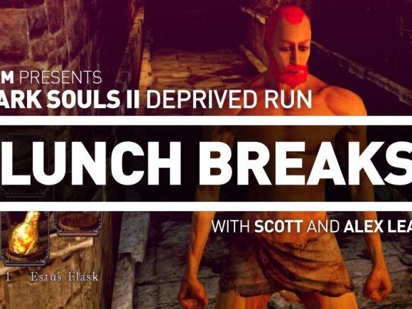 CGM Lunch Breaks - Dark Souls II Deprived Run - 2015-02-01 14:02:36