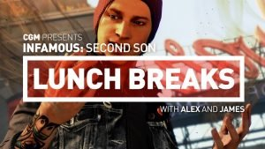 CGM Lunch Breaks - Infamous: Second Son - 2015-02-01 15:17:00