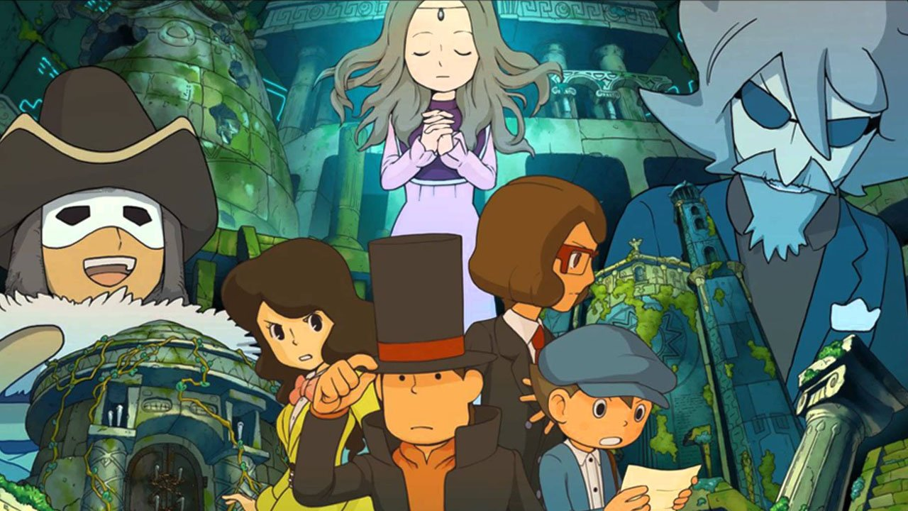 Professor Layton and the Azran Legacy (3ds) Review 2