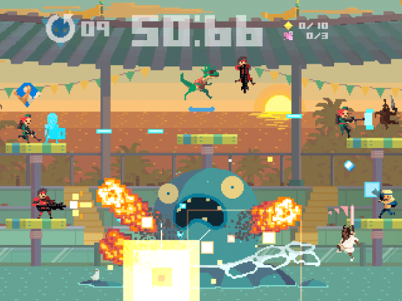Super Time Force Will Soon Explode Onto the Xbox Live Arcade 1