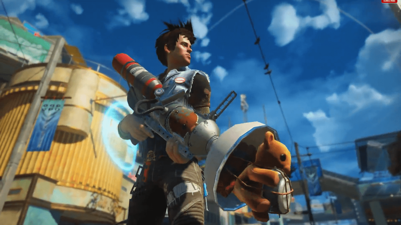 First Sunset Overdrive Gameplay Revealed - 2014-05-08 15:54:34