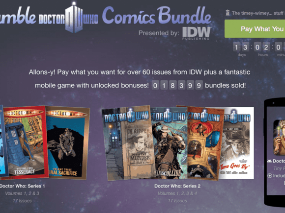 The Humble Bundle Now Sells Comics and Books 1