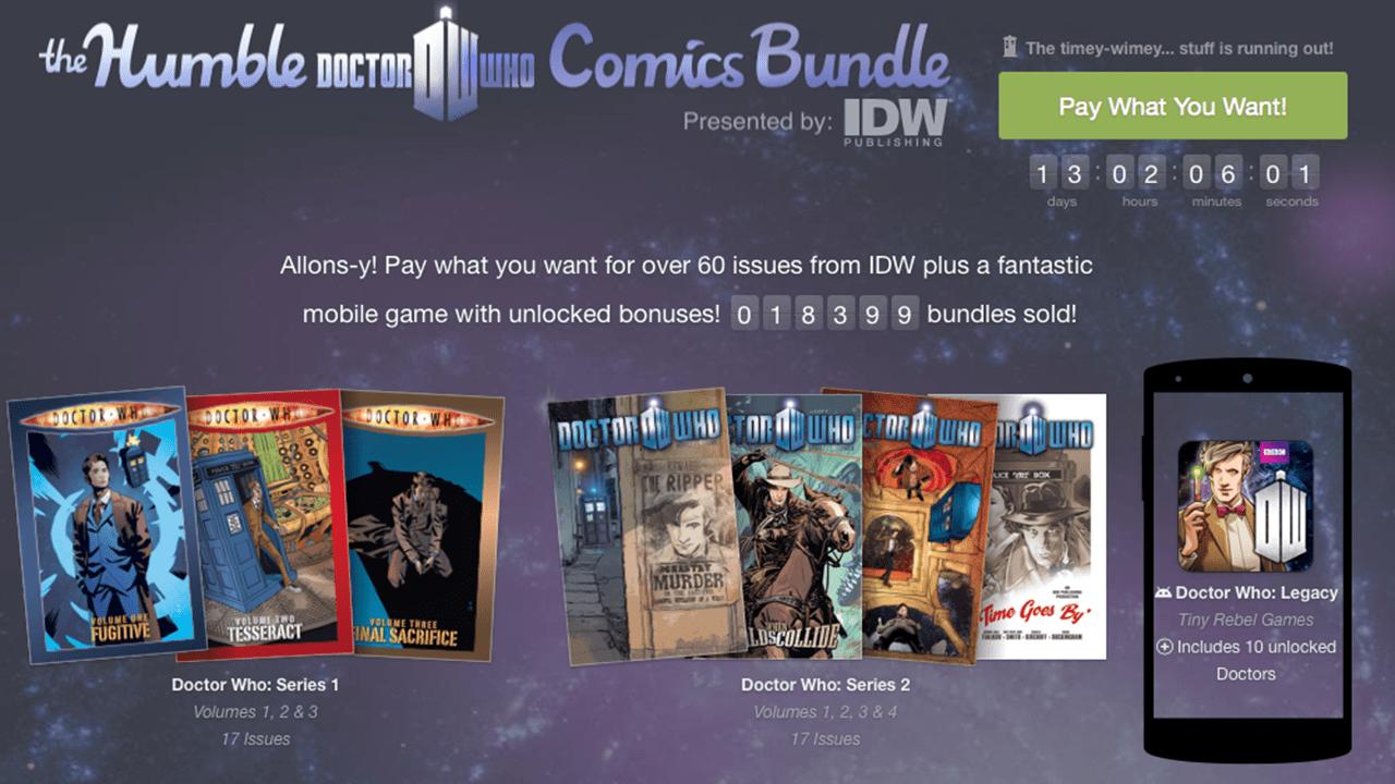The Humble Bundle Now Sells Comics and Books 1