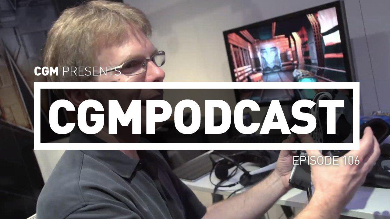 CGMPodcast Episode 106 - Spiderman Fails to Excite