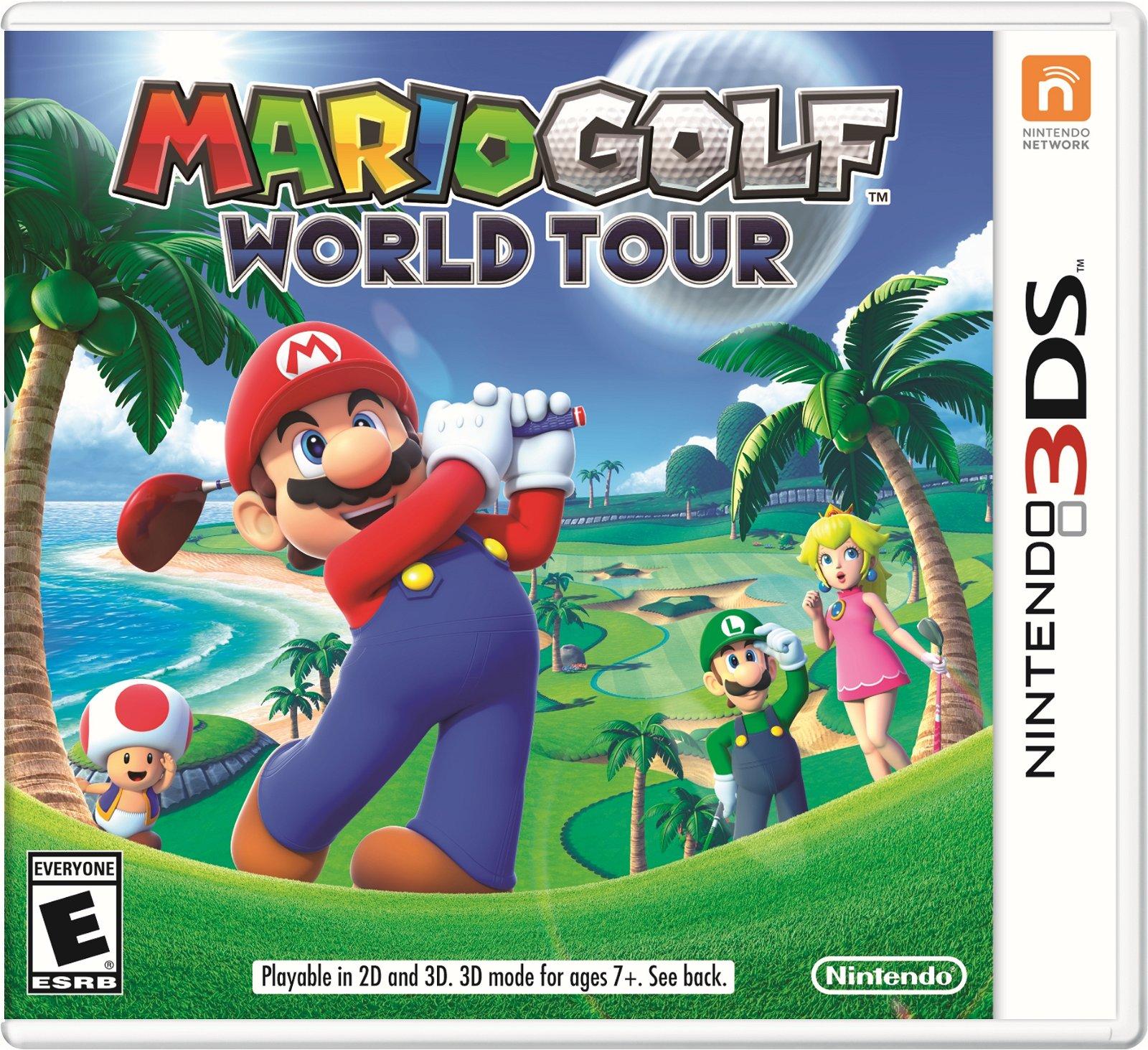 Mario Golf World Tour (3ds) Review 1