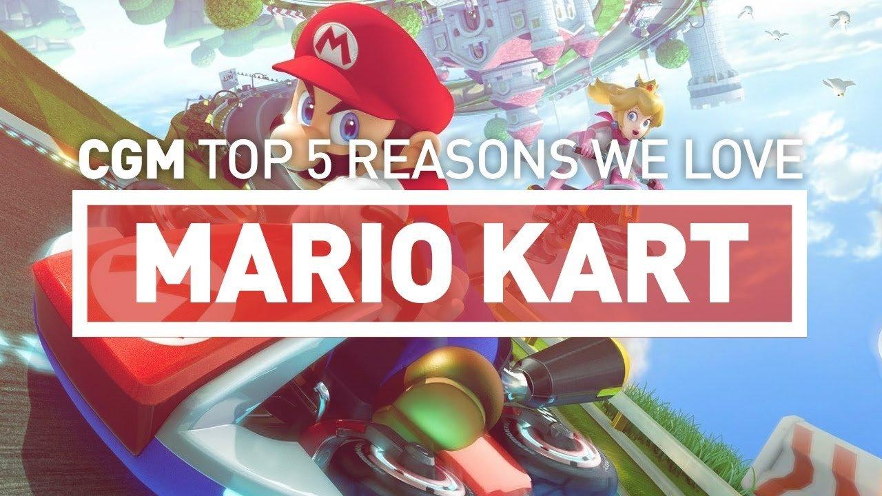 CGM's Top 5 Reasons We Love Mario Kart