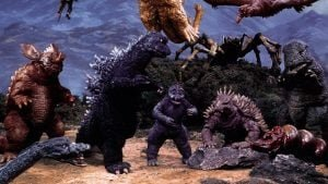 Top Five Giant Monster Movies  2