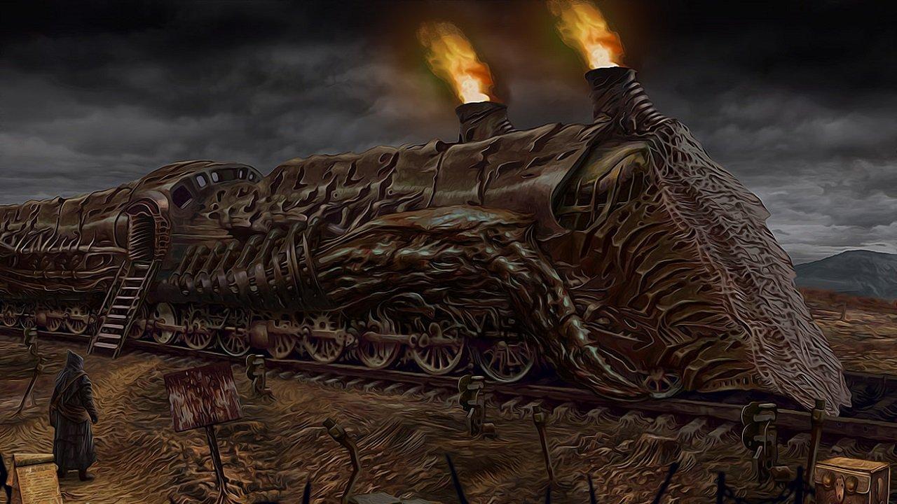 Enjoy Some Giger-eqsue Adventuring Courtesy of Tormentum 1