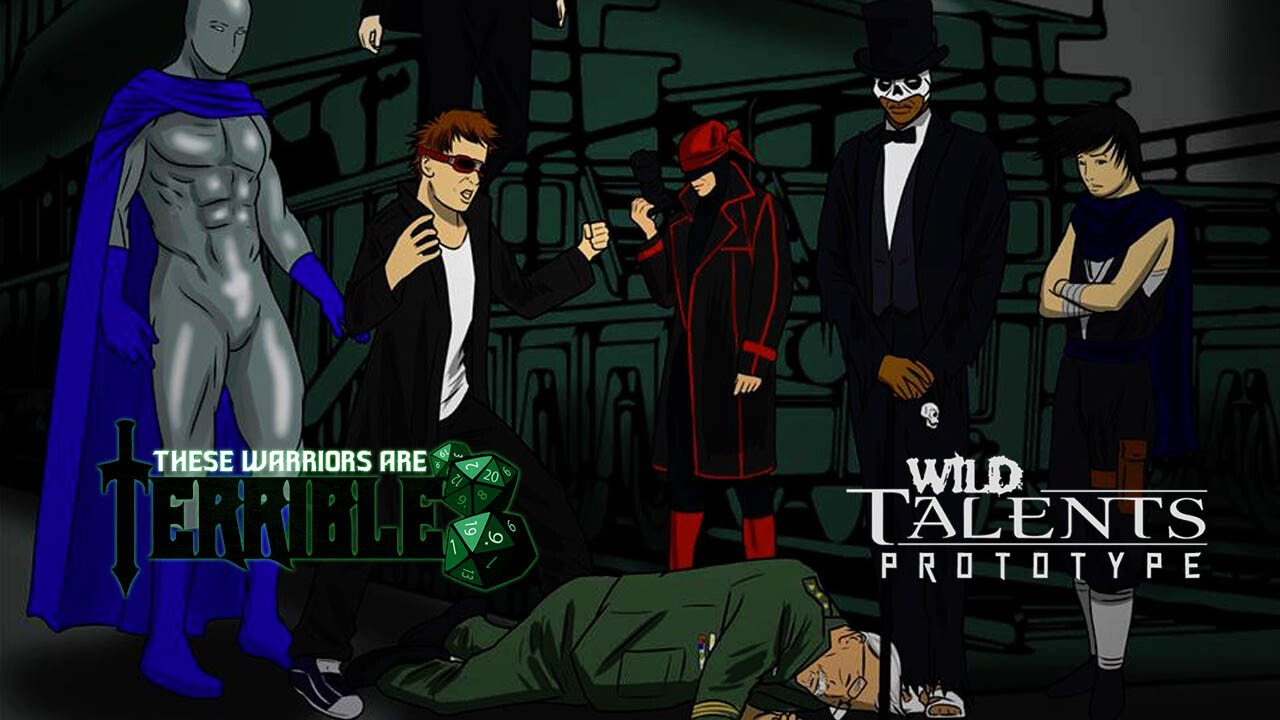 Terrible Warriors: Wild Talents: Prototype – Episode 1 - 2014-07-18 14:03:40