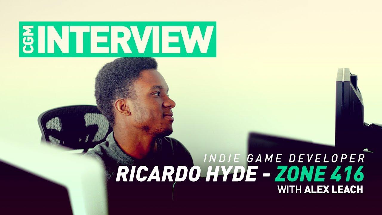 CGM Interview - Ricardo Hyde on Zone 416 - 2015-02-01 13:26:52