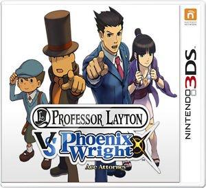 Professor Layton Vs Phoenix Wright Ace Attorney (3DS) Review 2