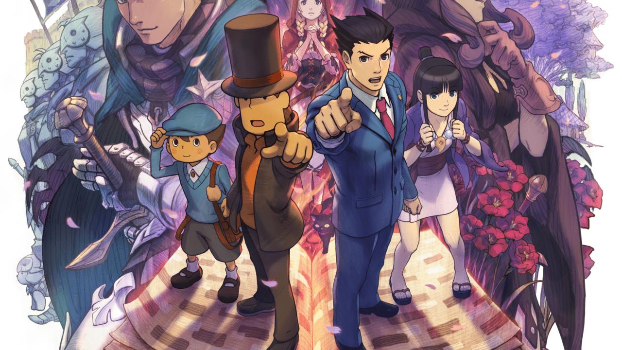 Professor Layton Vs Phoenix Wright Ace Attorney (3DS) Review 1