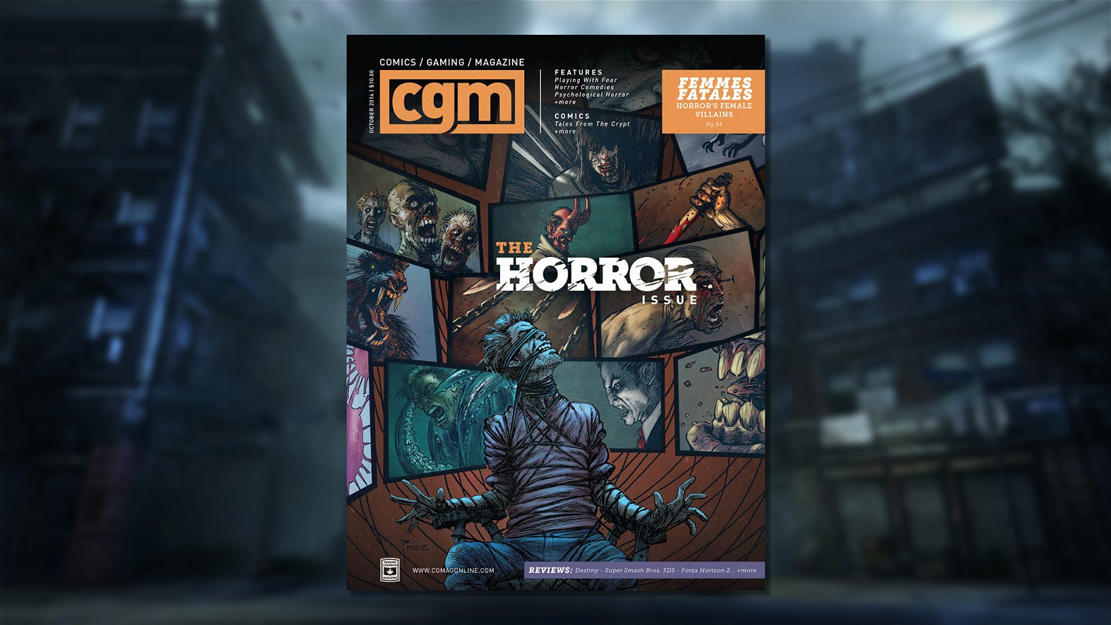 CGM October 2014 Issue Preview 1