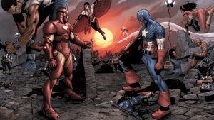 Is Marvel gearing up for Civil War?