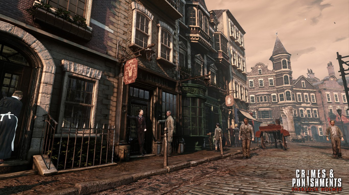 Sherlock Holmes: Crimes &Amp; Punishments (Ps4) Review 3