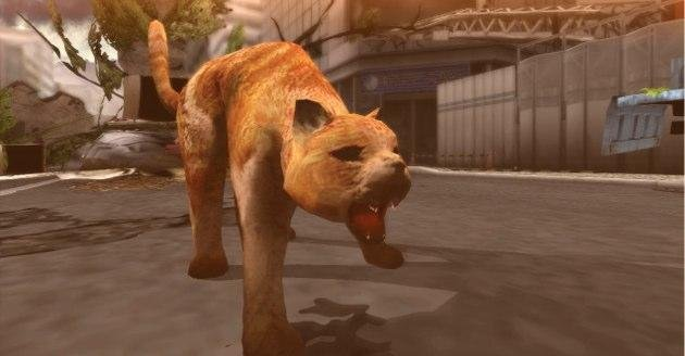 This is a cat boss. Yea, this game is weird in the best way.