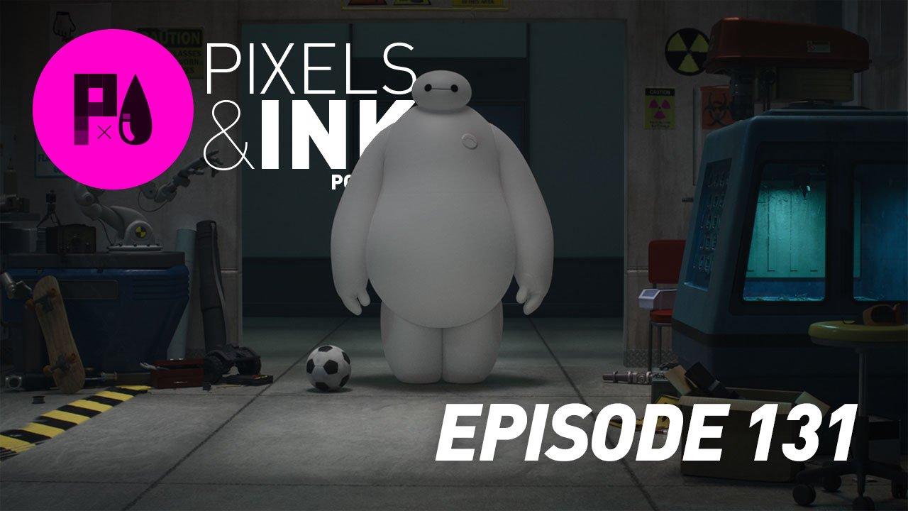 Pixels & Ink #131 - Big Fluffy Robot