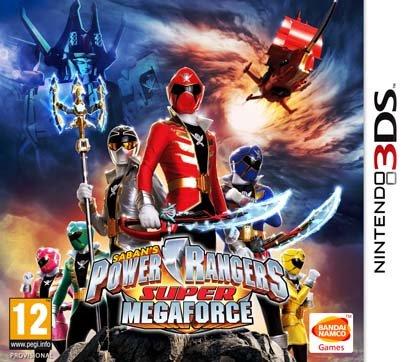 Power Rangers: Super Megaforce (3Ds) Review 3