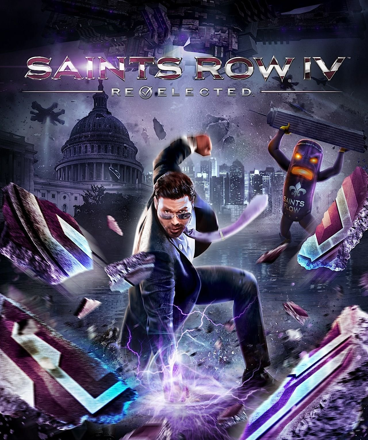Saints Row IV: Re-Elected (PS4) Review 4
