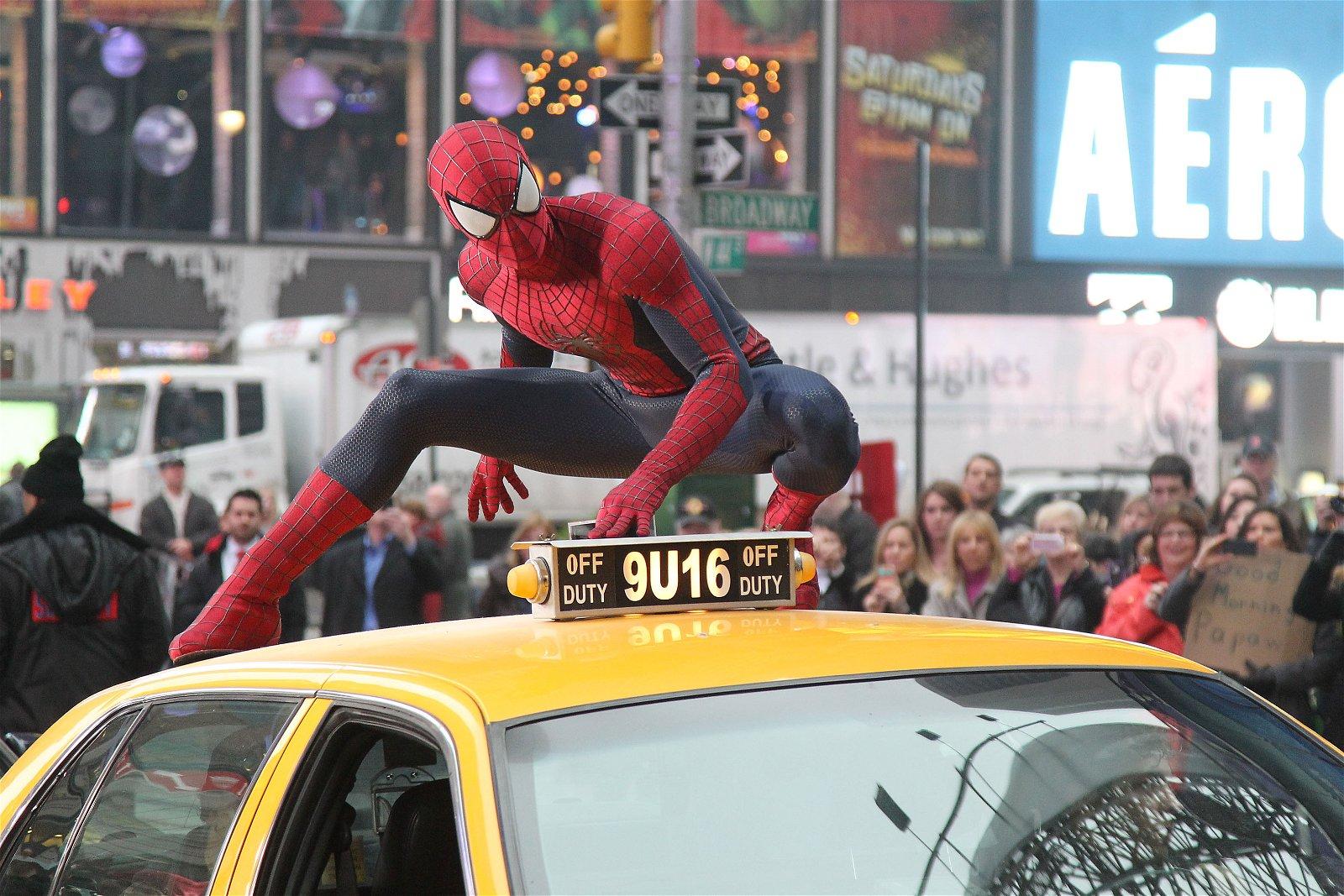 Spider-Man At Gma