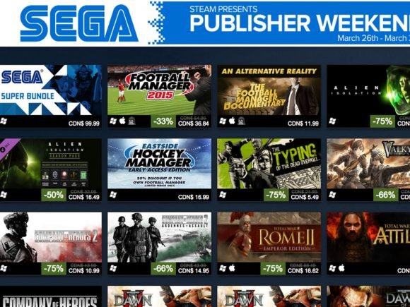 Sega Steam Sale Will Leave You Broke - 2015-03-27 13:04:47
