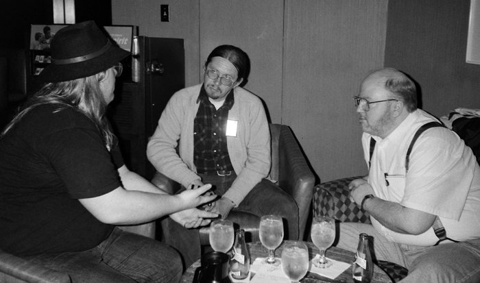 Rory Root, Chuck Rozanski, and Jim Hanley, ProCon 1993