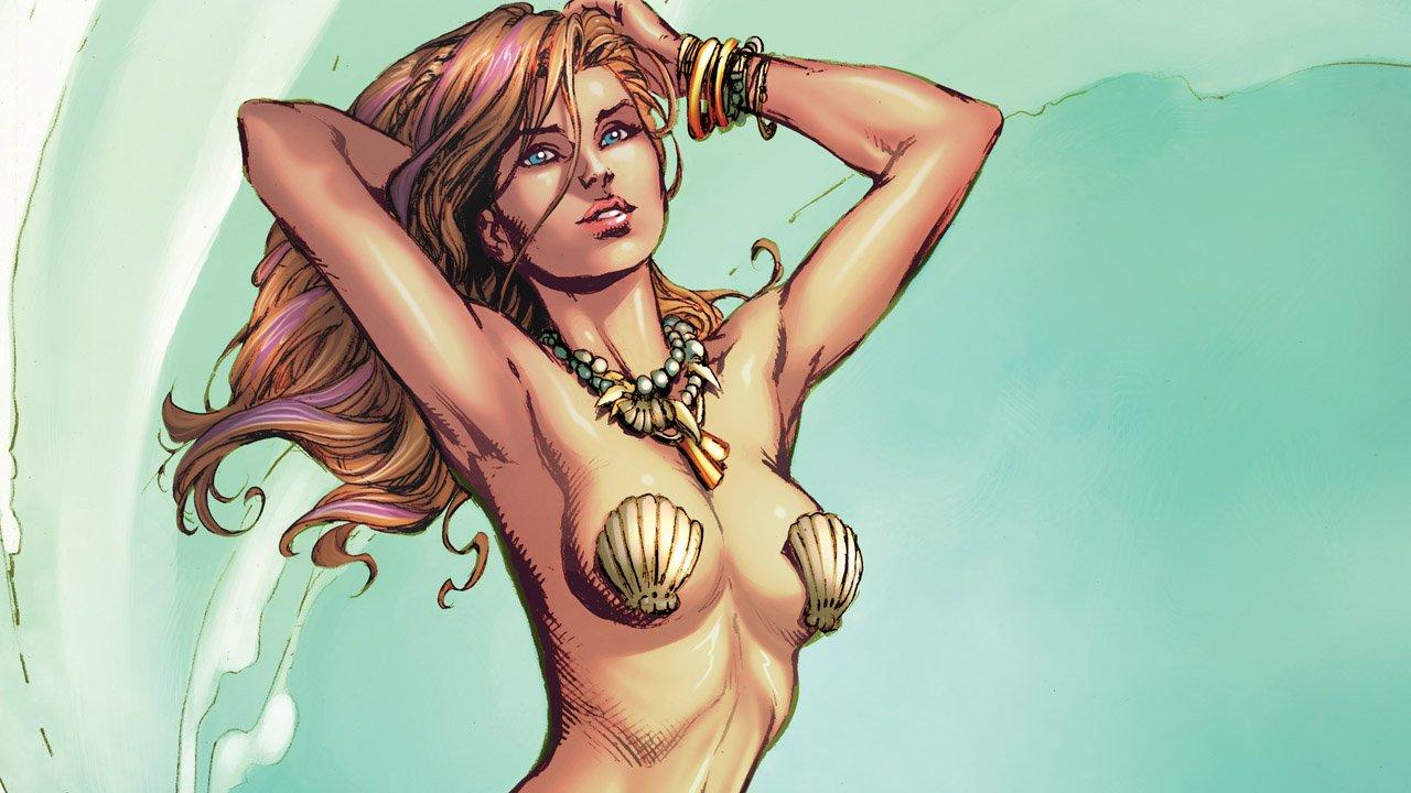The Little Mermaid Part 1: Landlocked (Comic) Review 3
