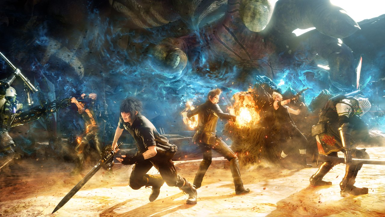 A Slew of Final Fantasy XV News
