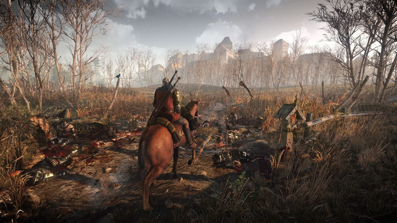 The Visuals of The Witcher 3 show the true power on consoles and the PC
