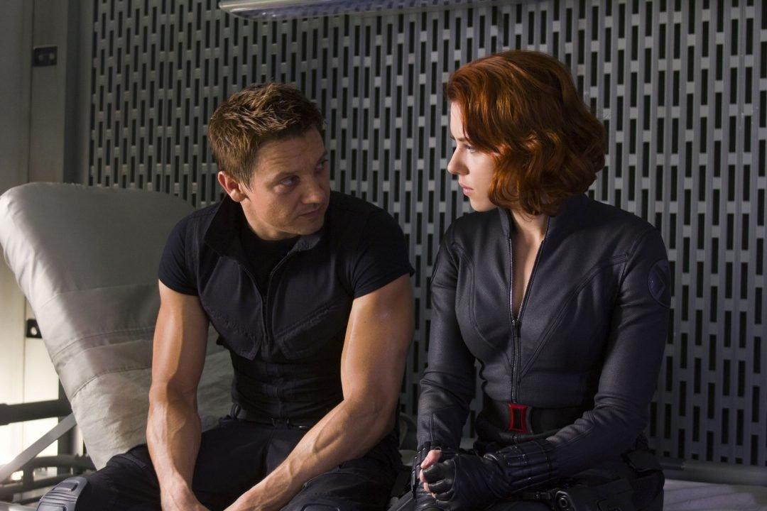 Hawkeye &Amp; Black Widow - Age Of Ultron 2015