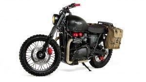Triumph Unveils 'Venom' Custom Bike Based on MGS V: The Phantom Pain - 2015-06-09 13:36:40