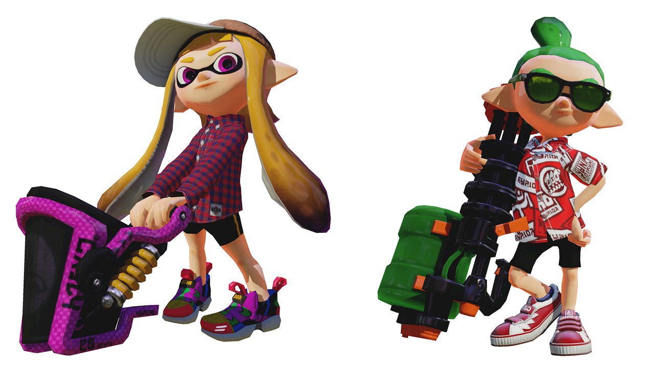 Splatoon August Update