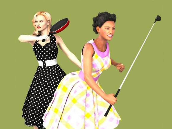 Fight Zombies as a 1950s Housewife 5