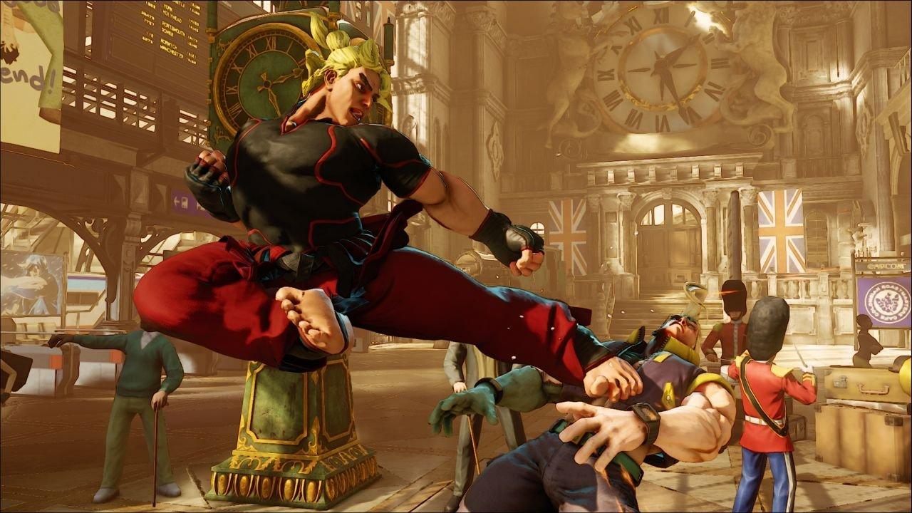 Street Fighter 5 Delayed
