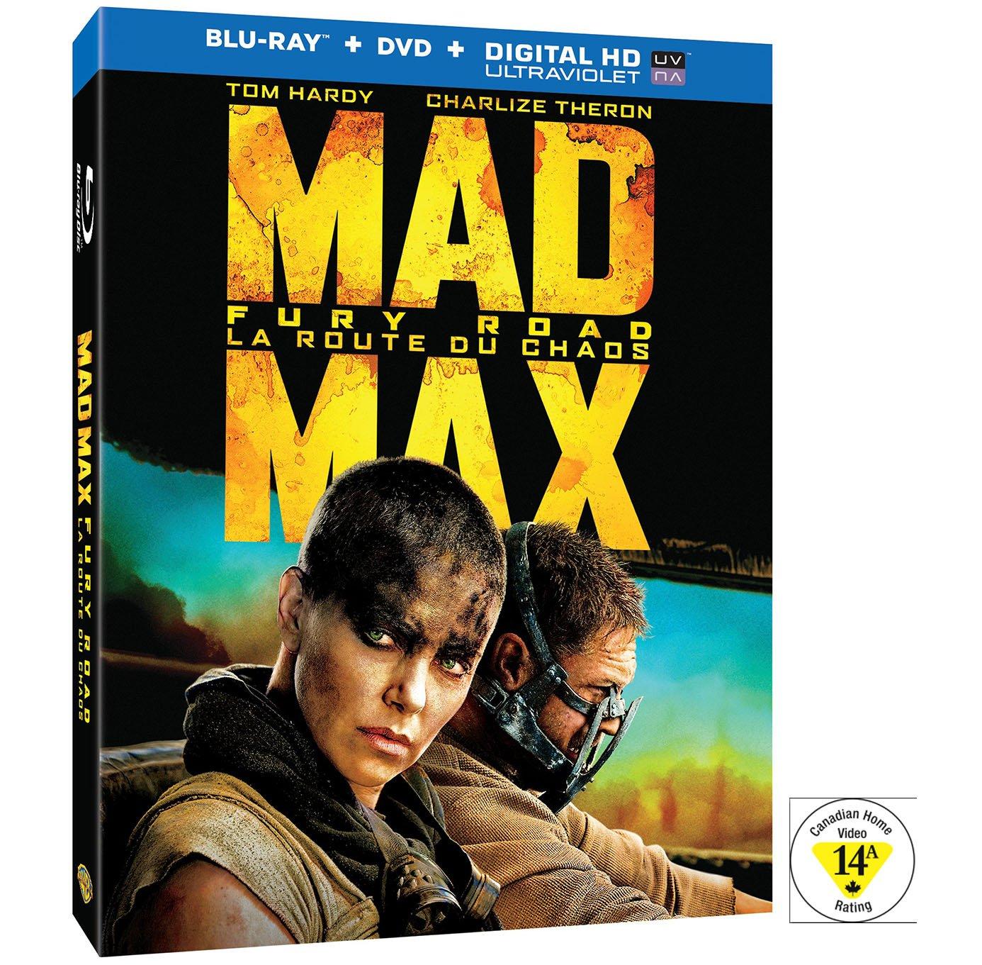 Mad Max Canadian Box Art