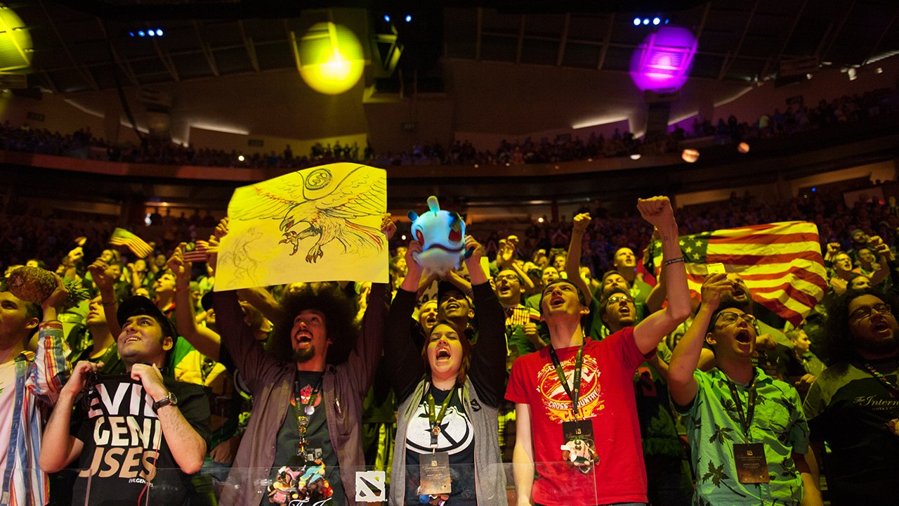 Ecstatic Crowd During the Grand Finals
