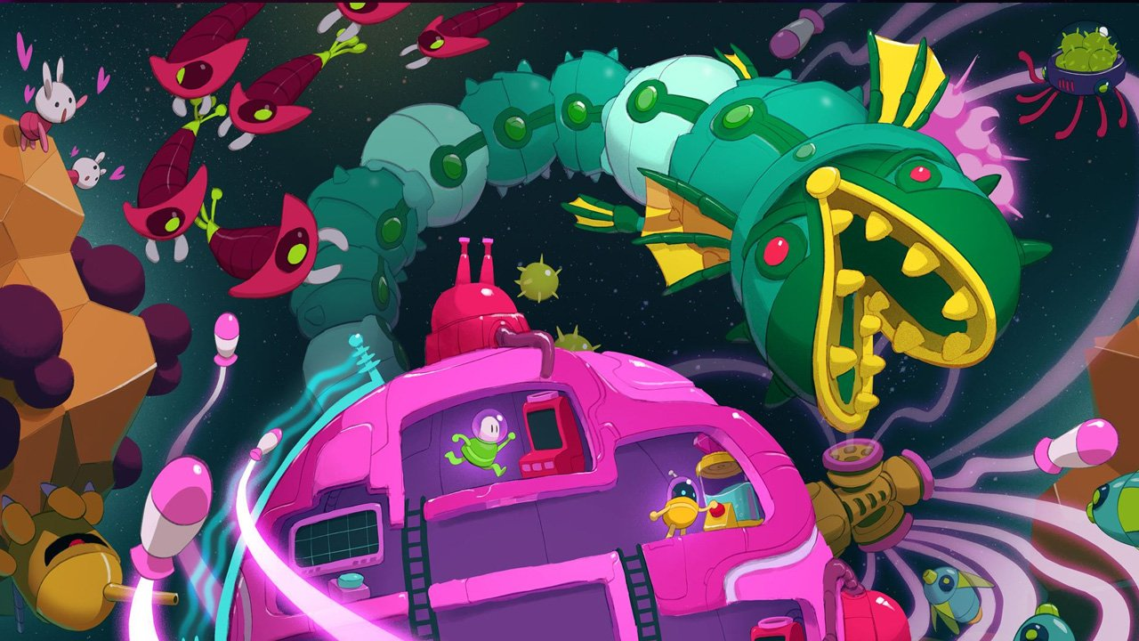 Lovers in a Dangerous Spacetime (Xbox One) Review 5