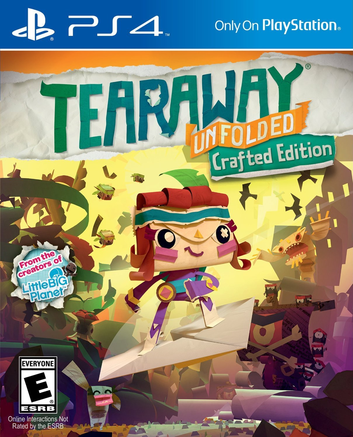 Tearaway Unfolded (PS4) Review 2